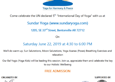 Find an Event | International Day of Yoga in Texas